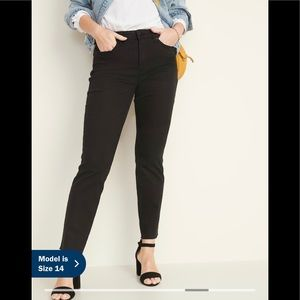 Old Navy Black The Power Jean